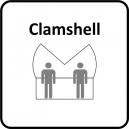 Clamshell 3M
